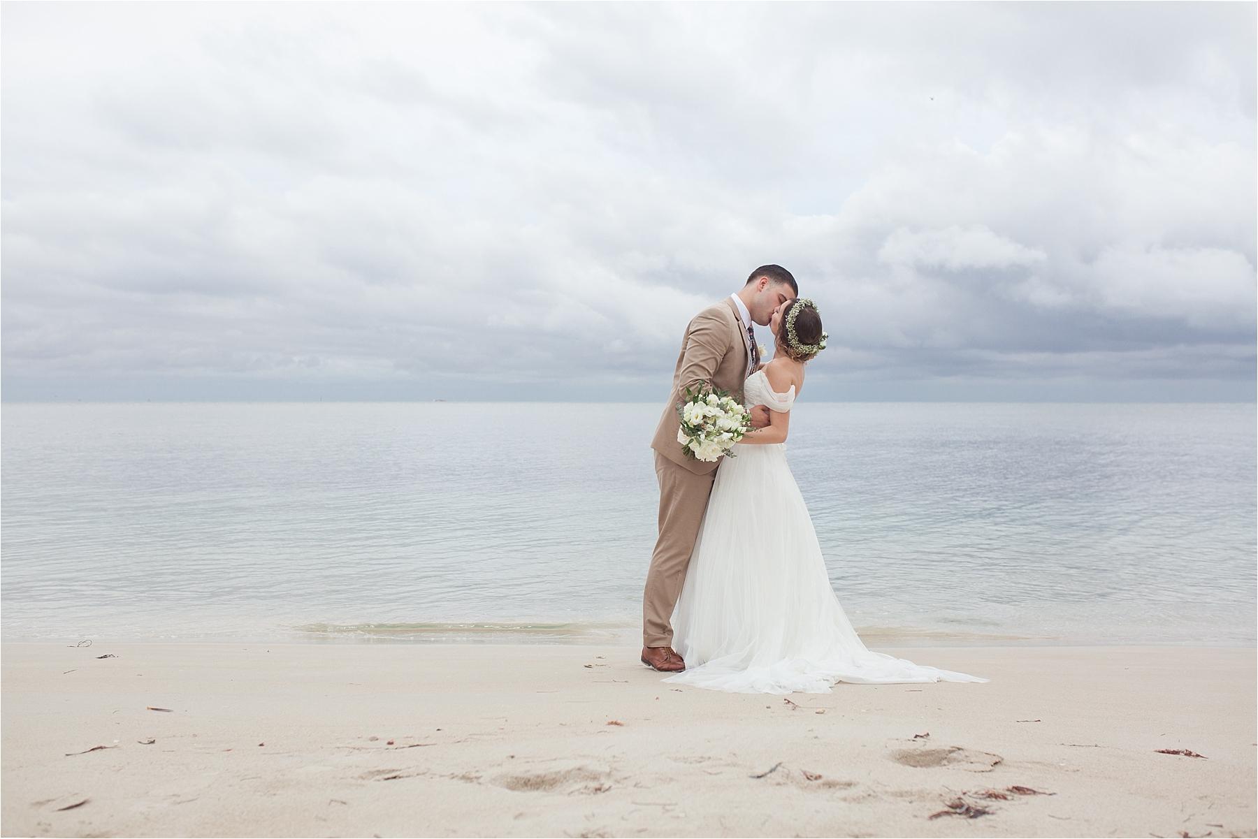 key biscayne beach wedding