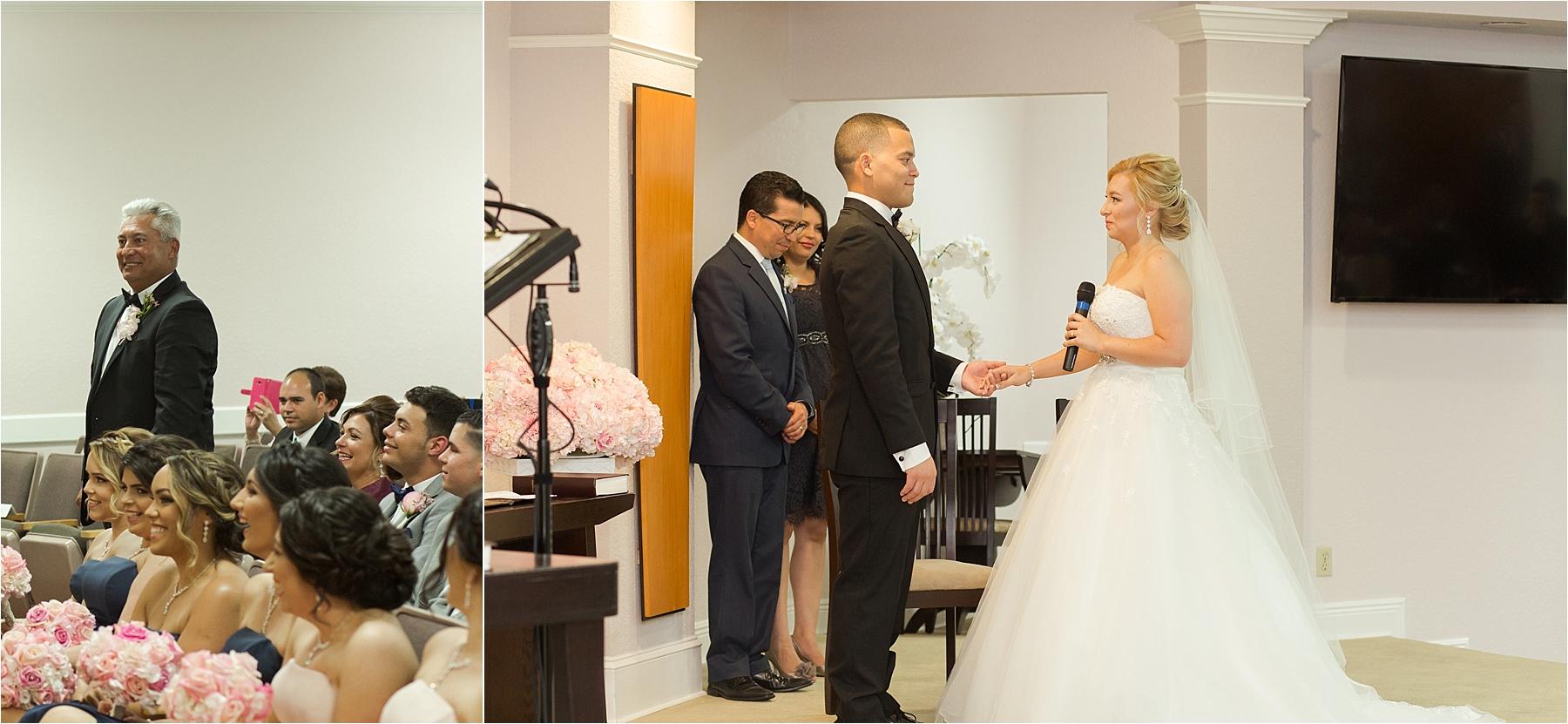 Vista Lago Ballroom Wedding