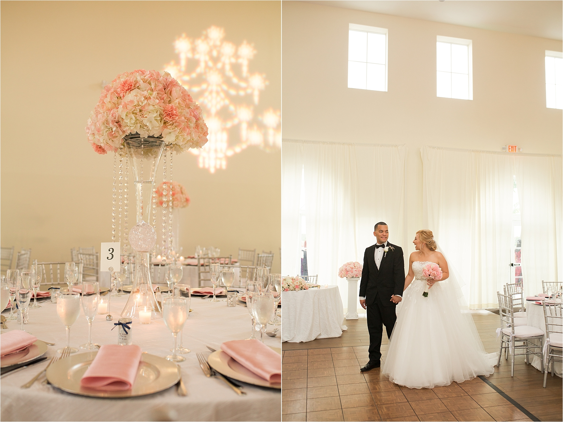 Vista Lago Ballroom Wedding