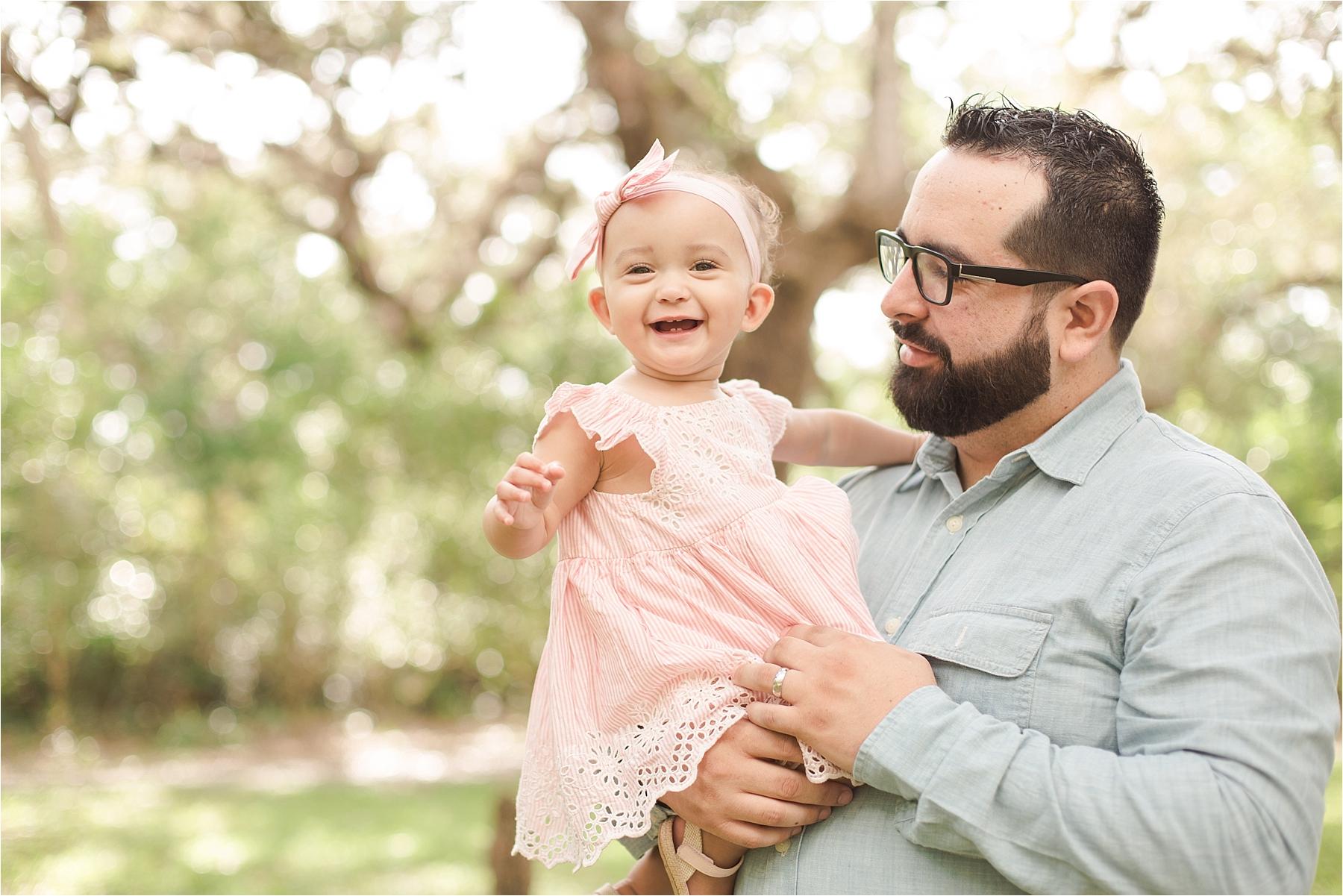 Tree Tops Maternity Family Session