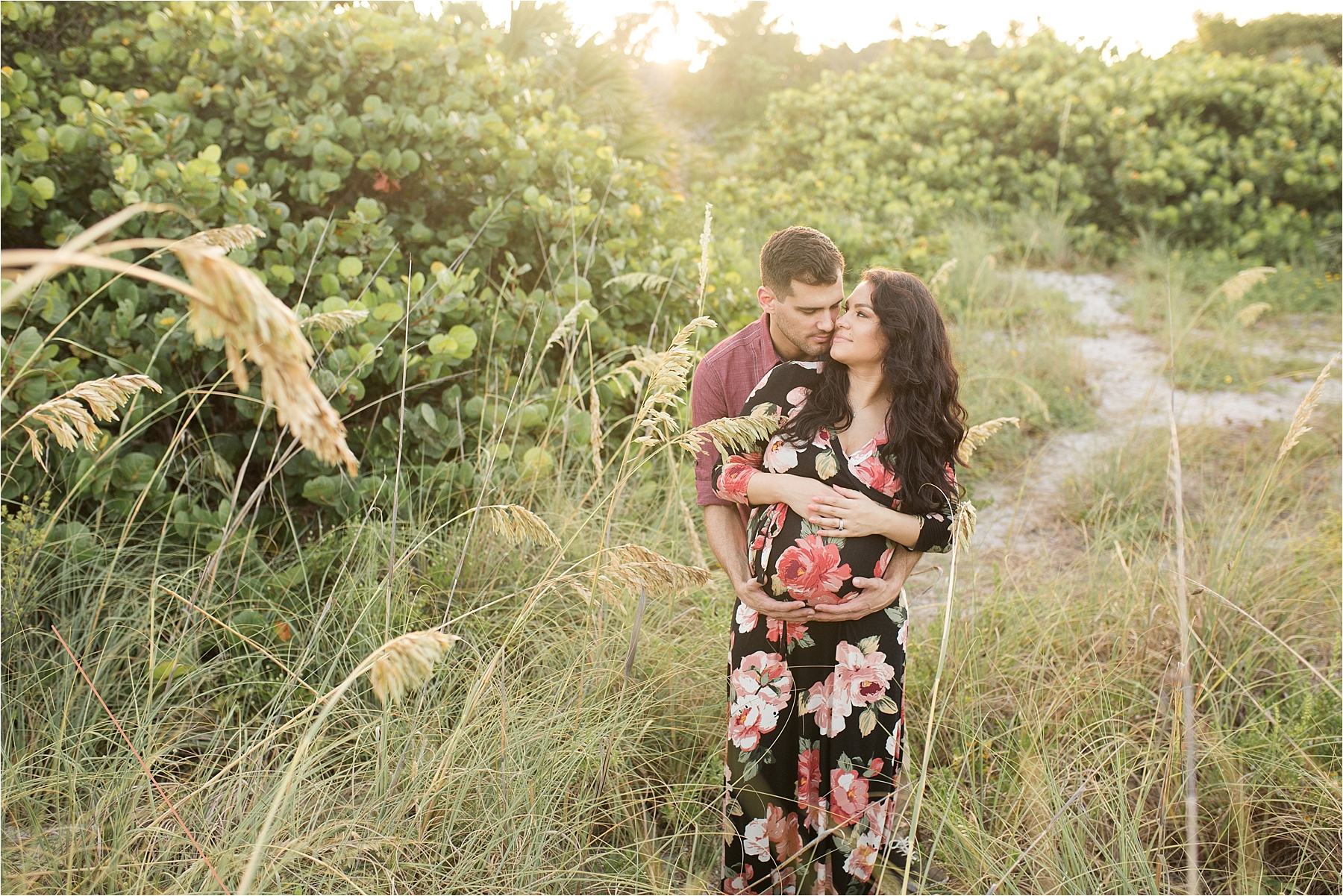 bill baggs beach miami maternity photography